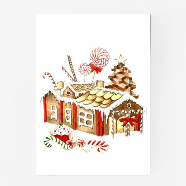 Постер «Пряничный домик»