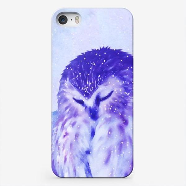 Чехол iPhone «Совушка»
