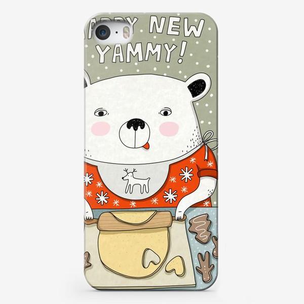 Чехол iPhone «Happy new yammy!»