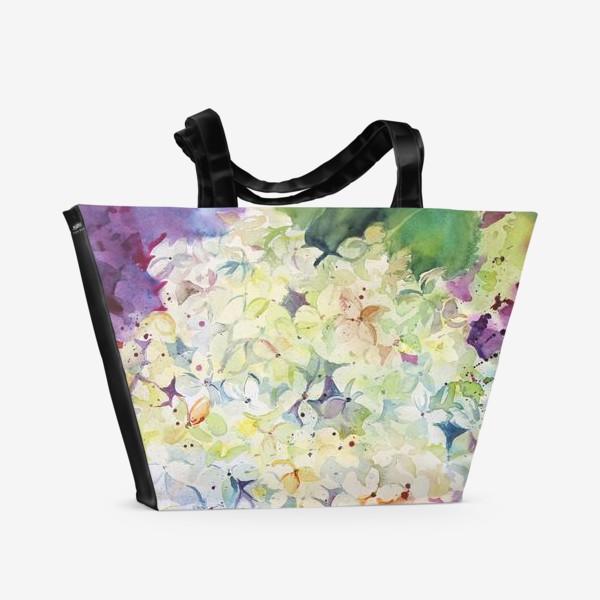 Пляжная сумка «Гортензия»