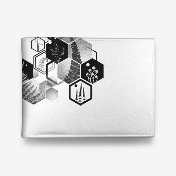 Кошелек «Hexagon Ferns»