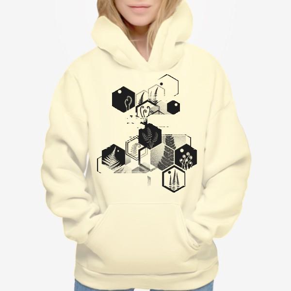 Худи «Hexagon Ferns»