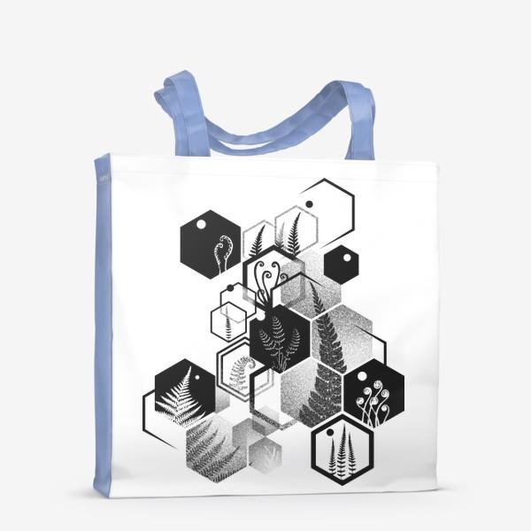 Сумка-шоппер «Hexagon Ferns»
