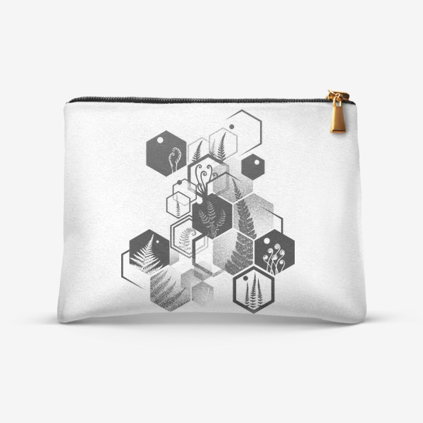 Косметичка «Hexagon Ferns»