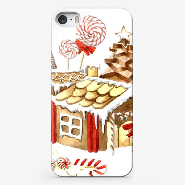 Чехол iPhone «Пряничный домик»