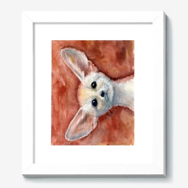Картина «Ушастый лисенок»