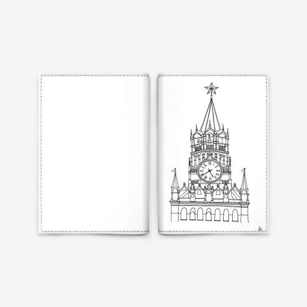 Обложка для паспорта «Spasskaya Tower»