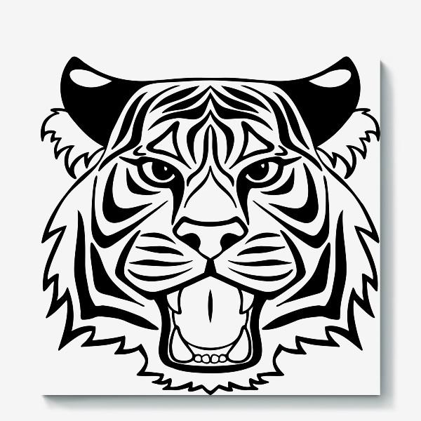 Холст «Тигр-р-р-р»