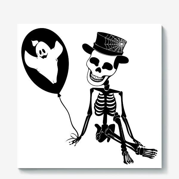 Холст «Подарок на Хэллоуин »