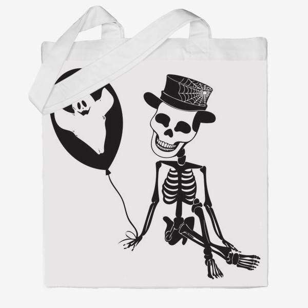 Сумка хб «Подарок на Хэллоуин »