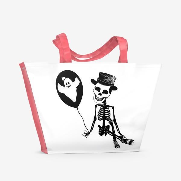 Пляжная сумка «Подарок на Хэллоуин »