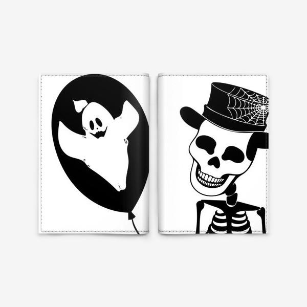 Обложка для паспорта «Подарок на Хэллоуин »