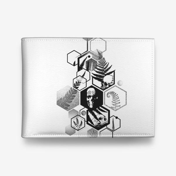 Кошелек «Hexagon Ferns Tattoo»