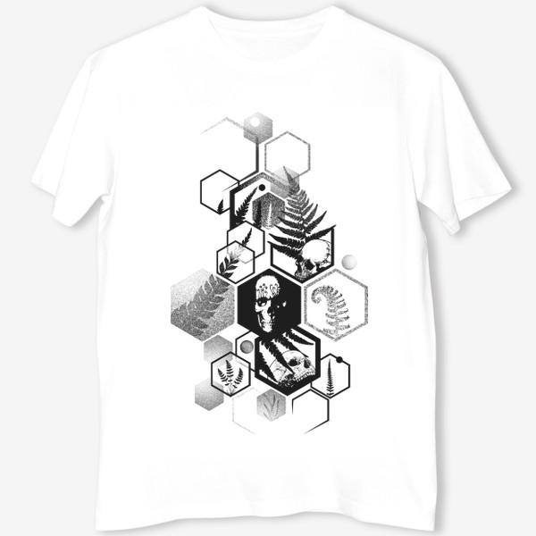 Футболка «Hexagon Ferns Tattoo»