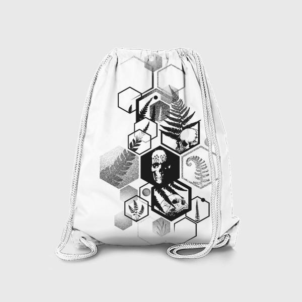 Рюкзак «Hexagon Ferns Tattoo»