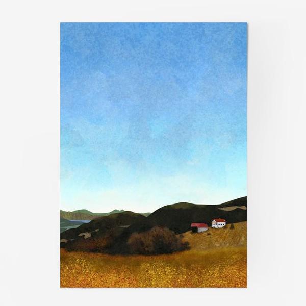 Постер «Осенний пейзаж»