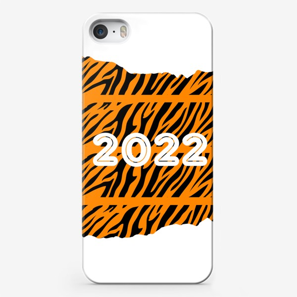 Чехол iPhone «Год тигра 2022»