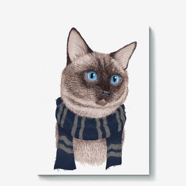 Холст «Котики Хогвартса. Когтевран.»