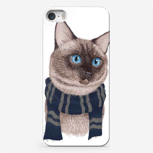 Чехол iPhone «Котики Хогвартса. Когтевран.»