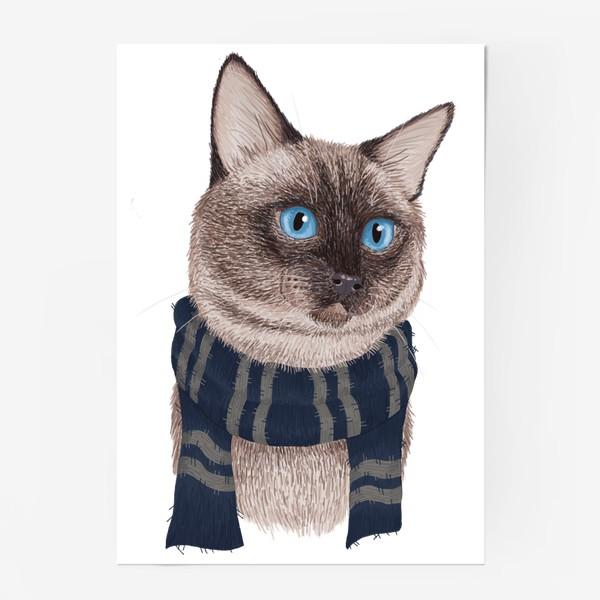 Постер «Котики Хогвартса. Когтевран.»