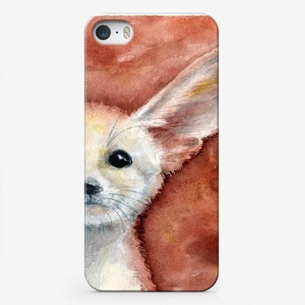 Чехол iPhone «Ушастый лисенок»