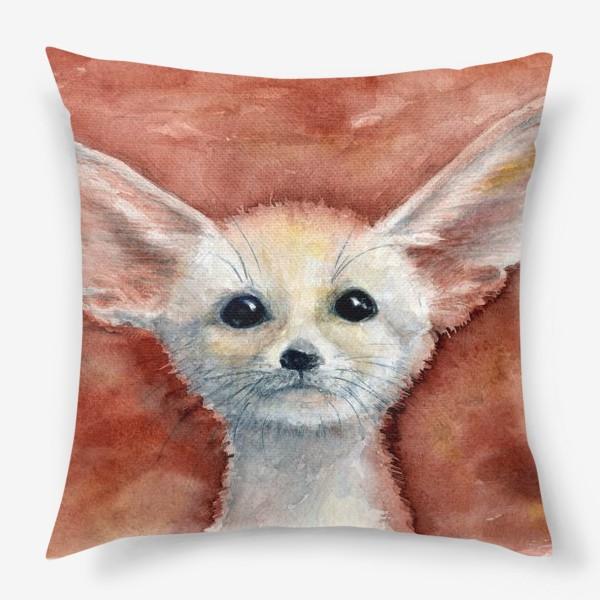 Подушка «Ушастый лисенок»