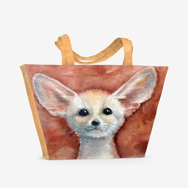 Пляжная сумка «Ушастый лисенок»