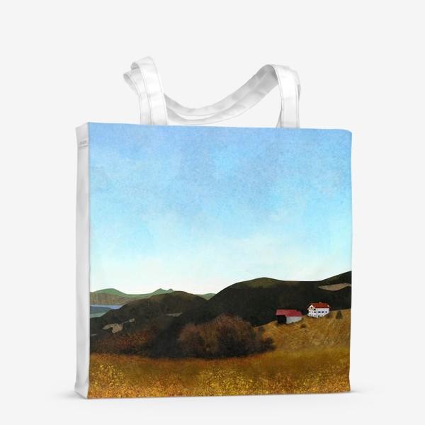Сумка-шоппер «Осенний пейзаж»