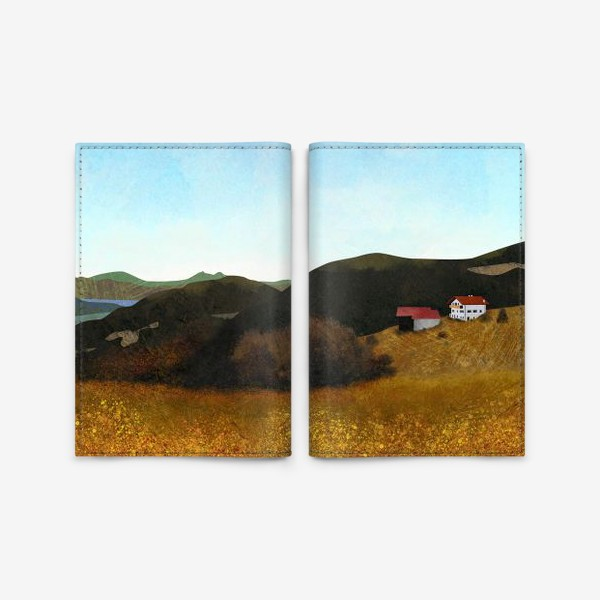Обложка для паспорта «Осенний пейзаж»