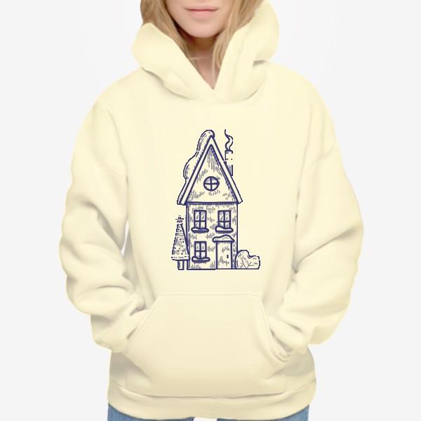 Худи «Зимний домик»