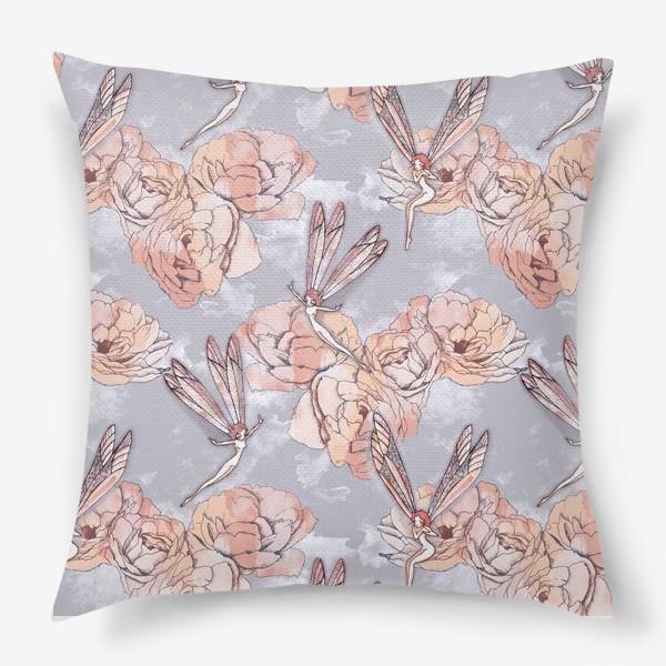 Подушка «Феи и розы»