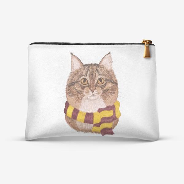 Косметичка «Котики из Хоргвартса. Гриффиндор.»