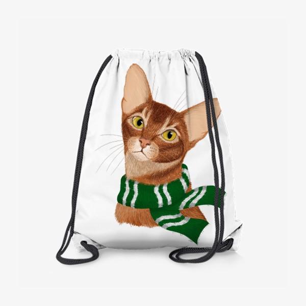 Рюкзак «Котики Хогвартса. Слизерин.»