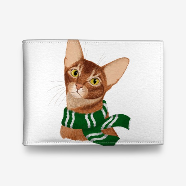 Кошелек «Котики Хогвартса. Слизерин.»