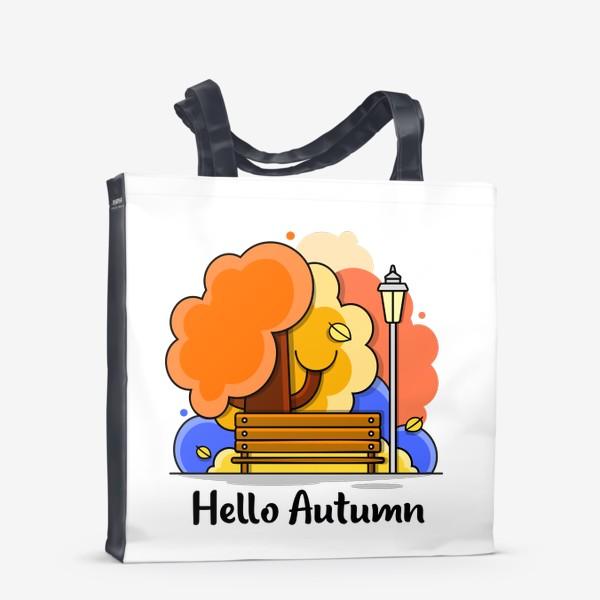 Сумка-шоппер «Привет Осень»