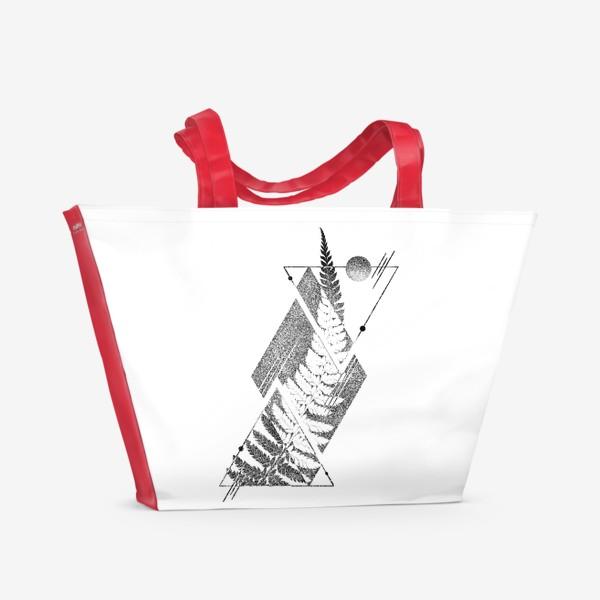 Пляжная сумка «Geometric Mysticism»