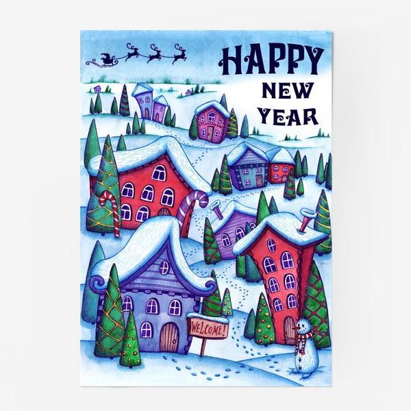 Постер «Зимний город»