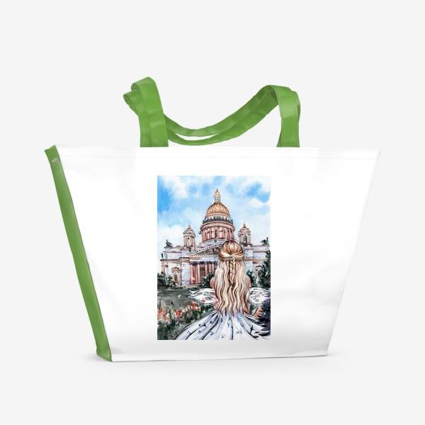 Пляжная сумка «Исаакиевский собор»