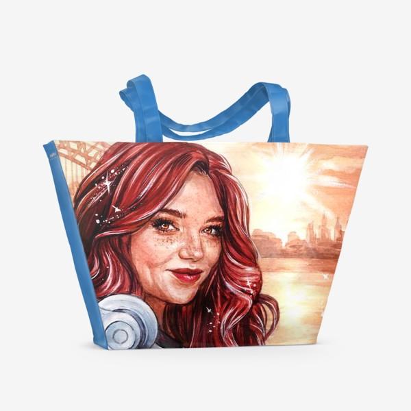 Пляжная сумка «солнце»