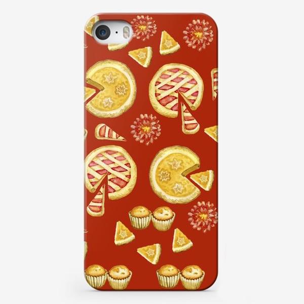 Чехол iPhone «Выпечка. Пирог.Кексы.»