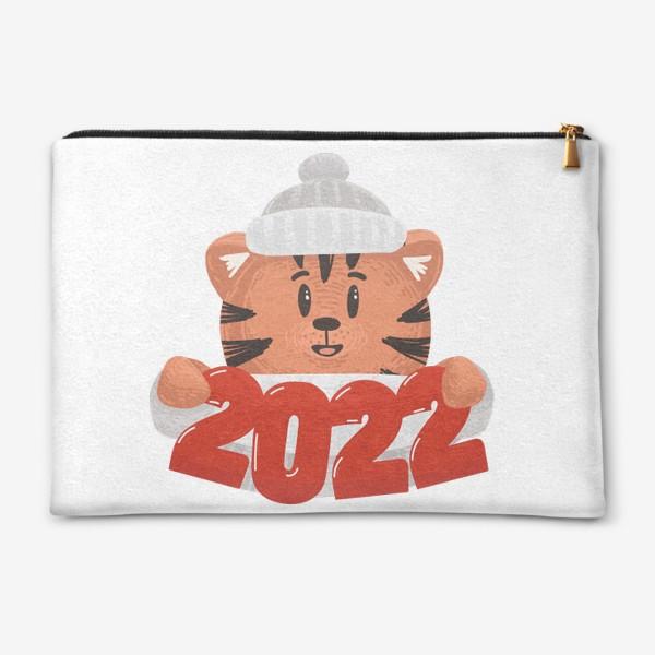 Косметичка «Tiger 2022»