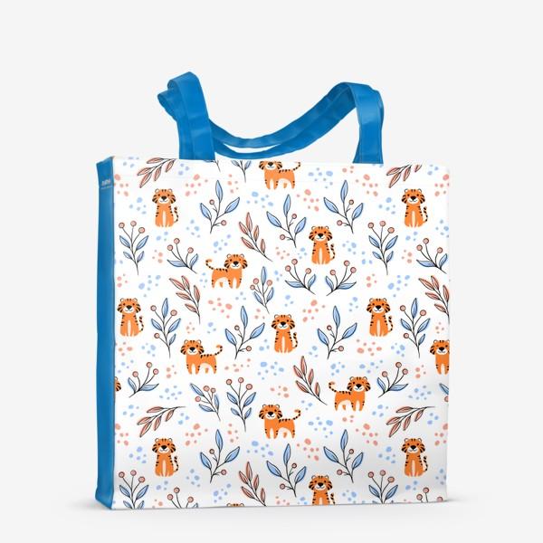 Сумка-шоппер «Тигры »