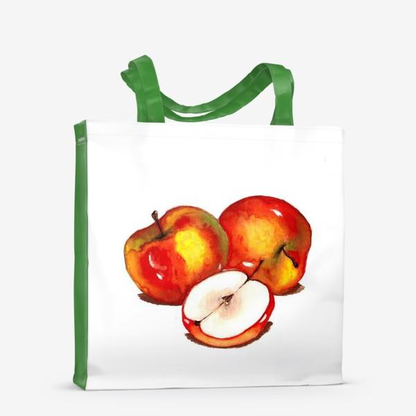 """Сумка-шоппер «""""Apple""""»"""