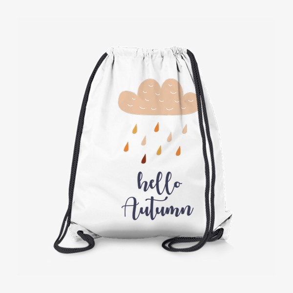 Рюкзак «Hello Autumn - Привет Осень. Осенний дождь»