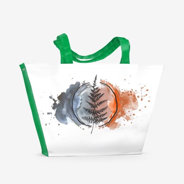Пляжная сумка «Fern Colors»