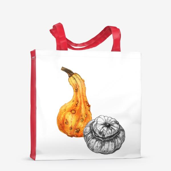 Сумка-шоппер «Осенние тыквы»