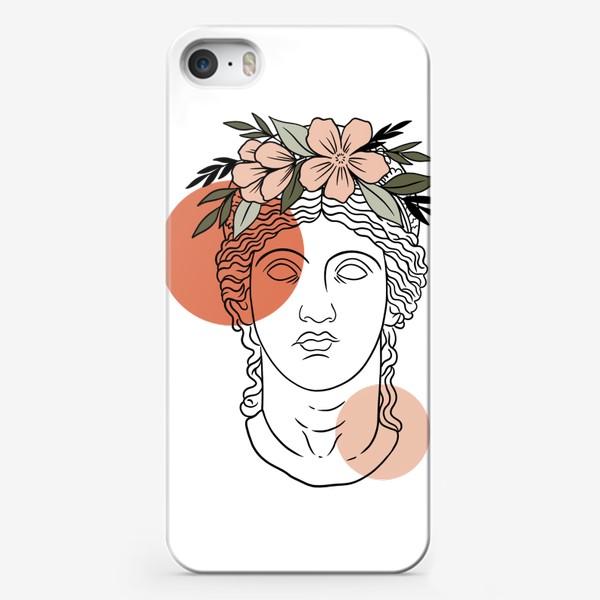 Чехол iPhone «Античная статуя/ абстракция»