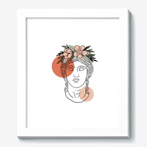 Картина «Античная статуя/ абстракция»