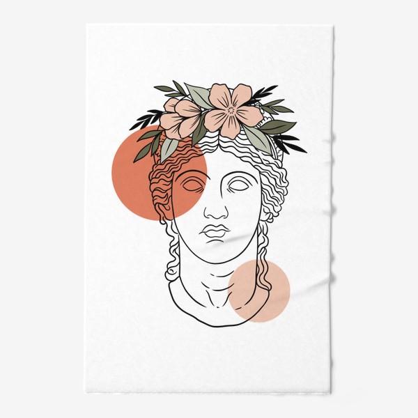Полотенце «Античная статуя/ абстракция»