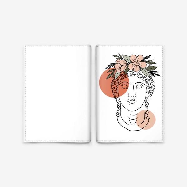 Обложка для паспорта «Античная статуя/ абстракция»